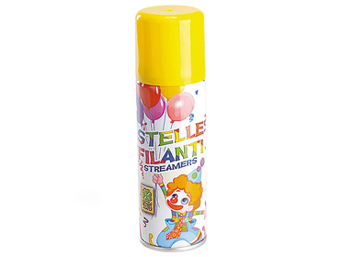 stella filante spray gialla