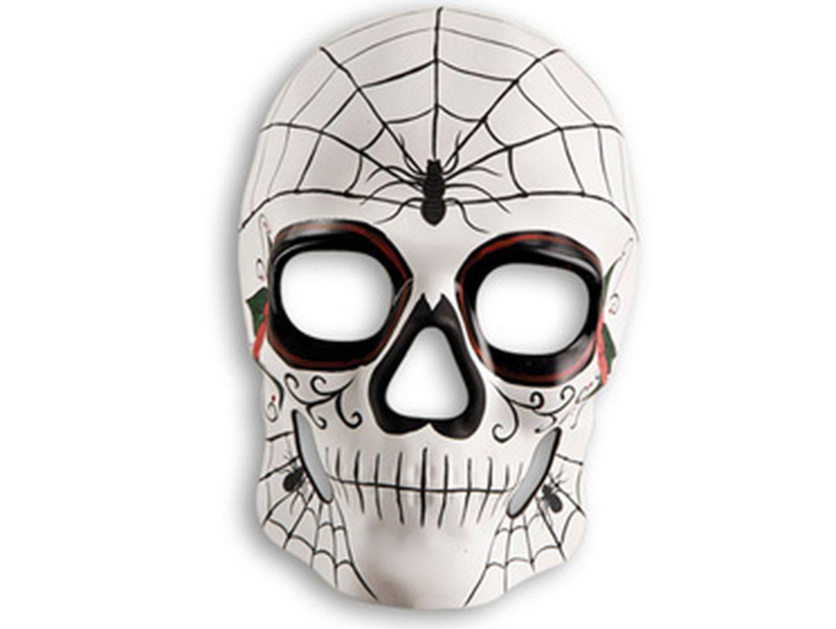 maschera teschio ragno