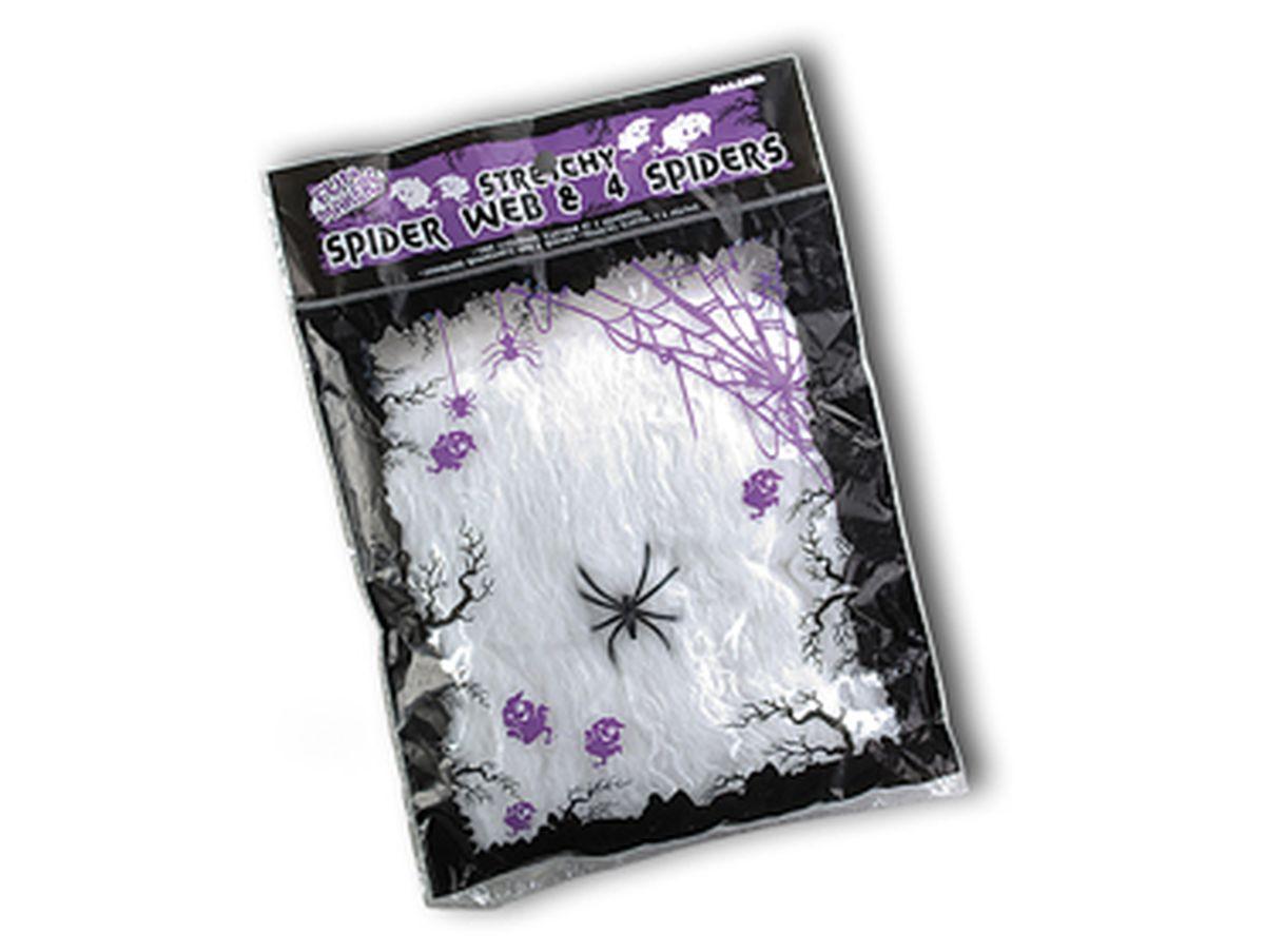 ragnatela bianca estensibile grammi 20
