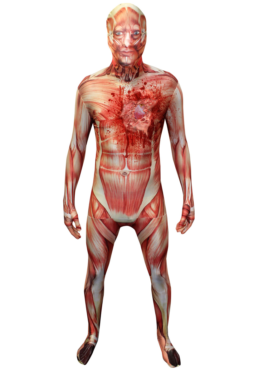 Tuta Corpo Umano Digital Dudz