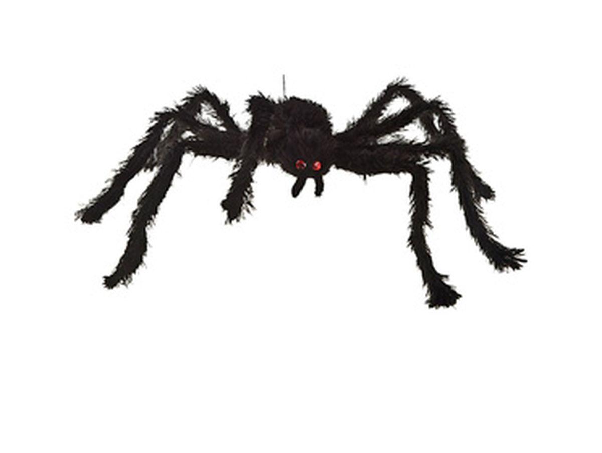 ragno in peluche diametro cm 65