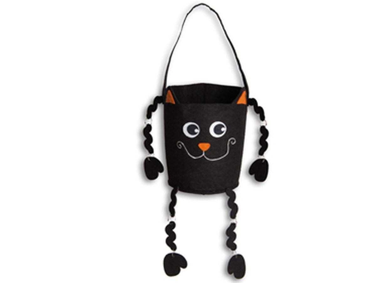 borsa gattino nero