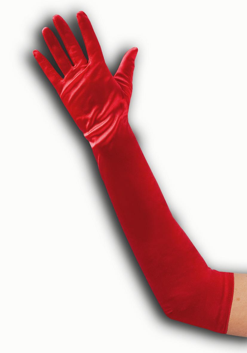 guanti rossi