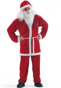 Costume Babbo Natale in ciniglia