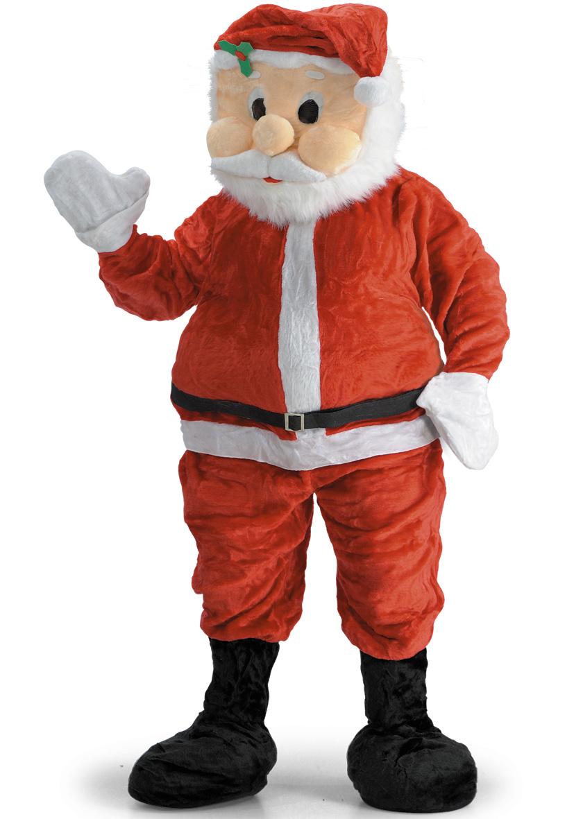 Costume mascotte Babbo Natale