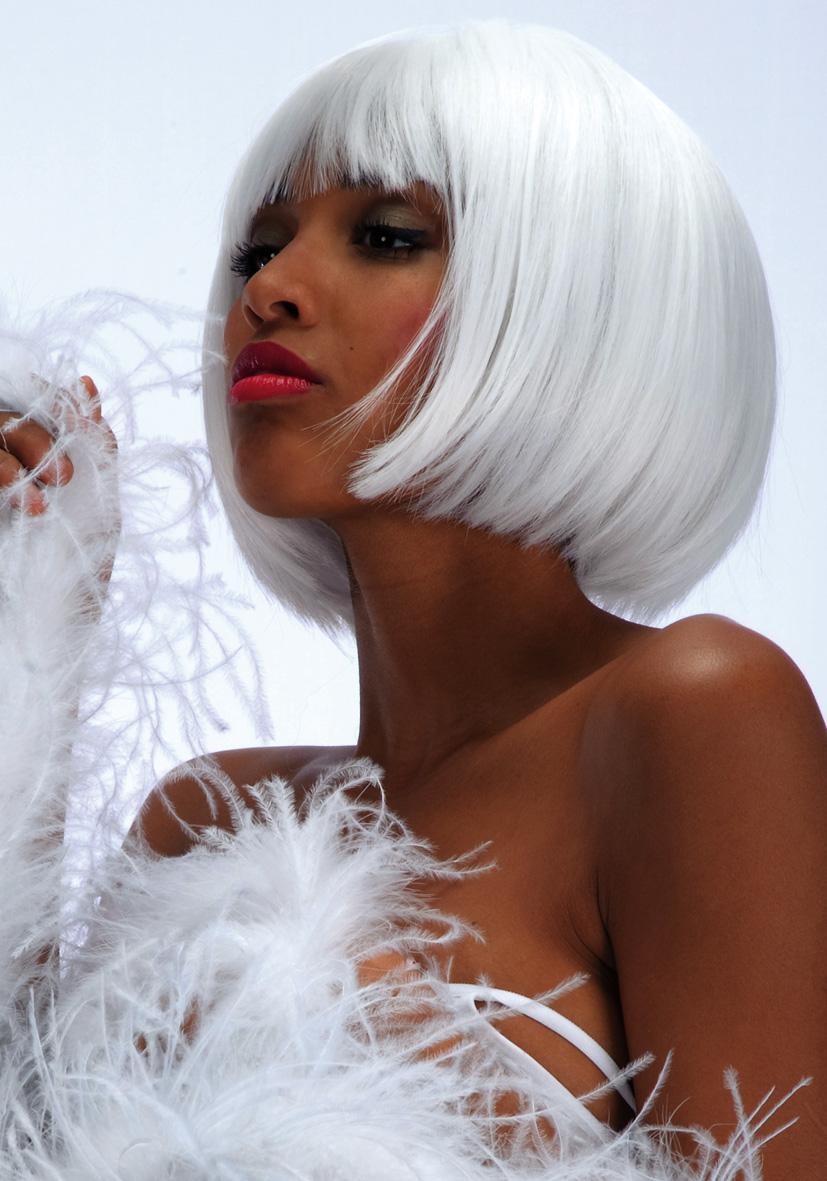 Parrucca Lovely bianca