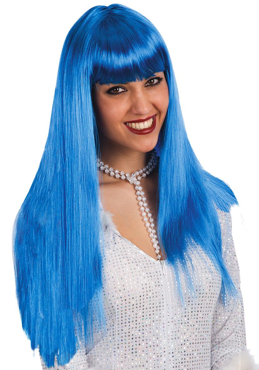 Parrucca Vanity blu