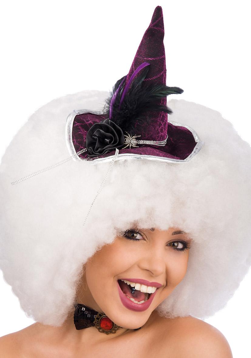 Cappello mini da strega bordeaux