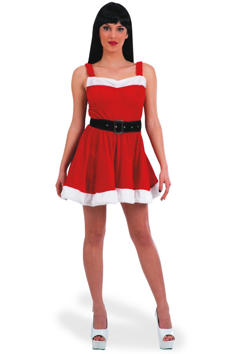 927030-costume-natale-donna-abito-corto-velluto-rosso-e-bordi-bianchi-TU