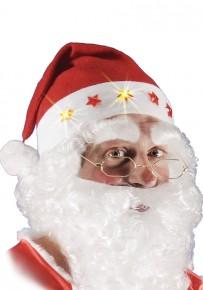 cappuccio Babbo Natale con luci