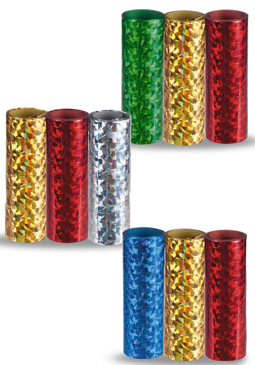 stelle filanti metallizzate