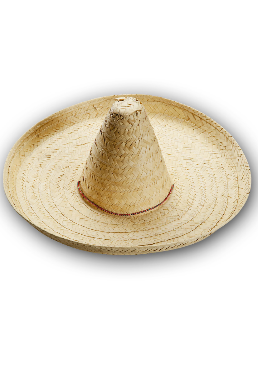 Sombrero in paglia color naturale diametro cm 50