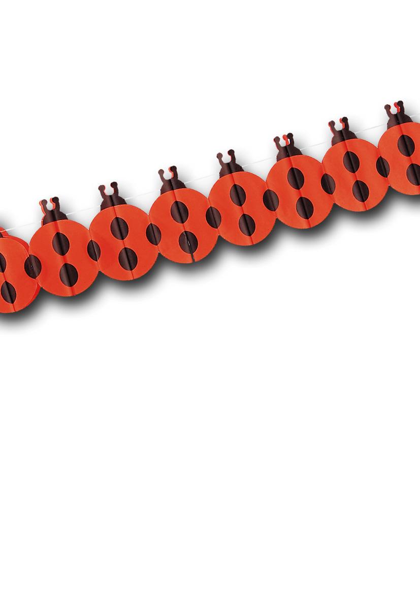Festone coccinella metri 4