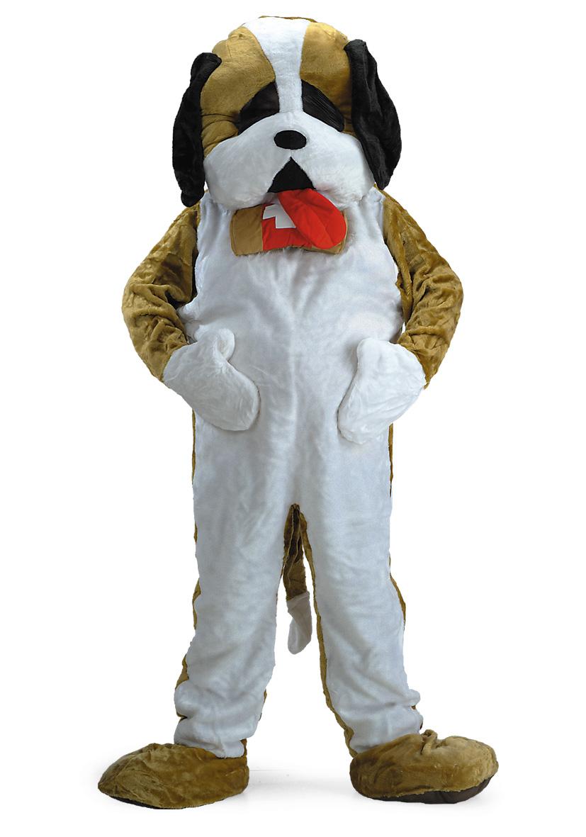 Costume mascotte cane san Bernardo