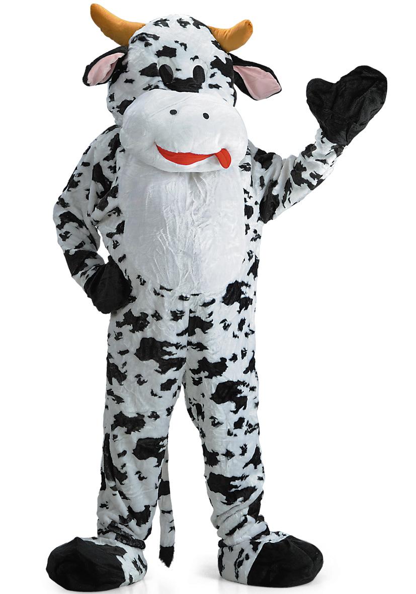 Costume mascotte mucca