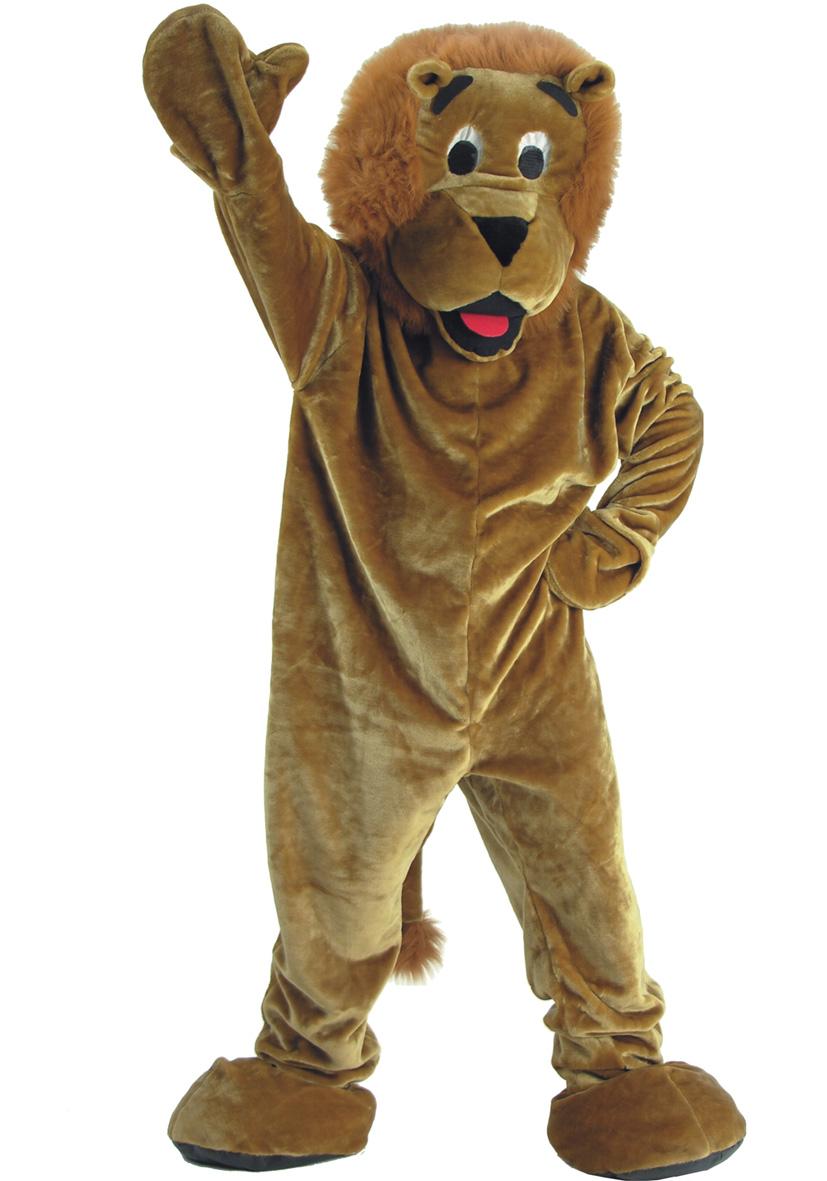 Costume mascotte leone