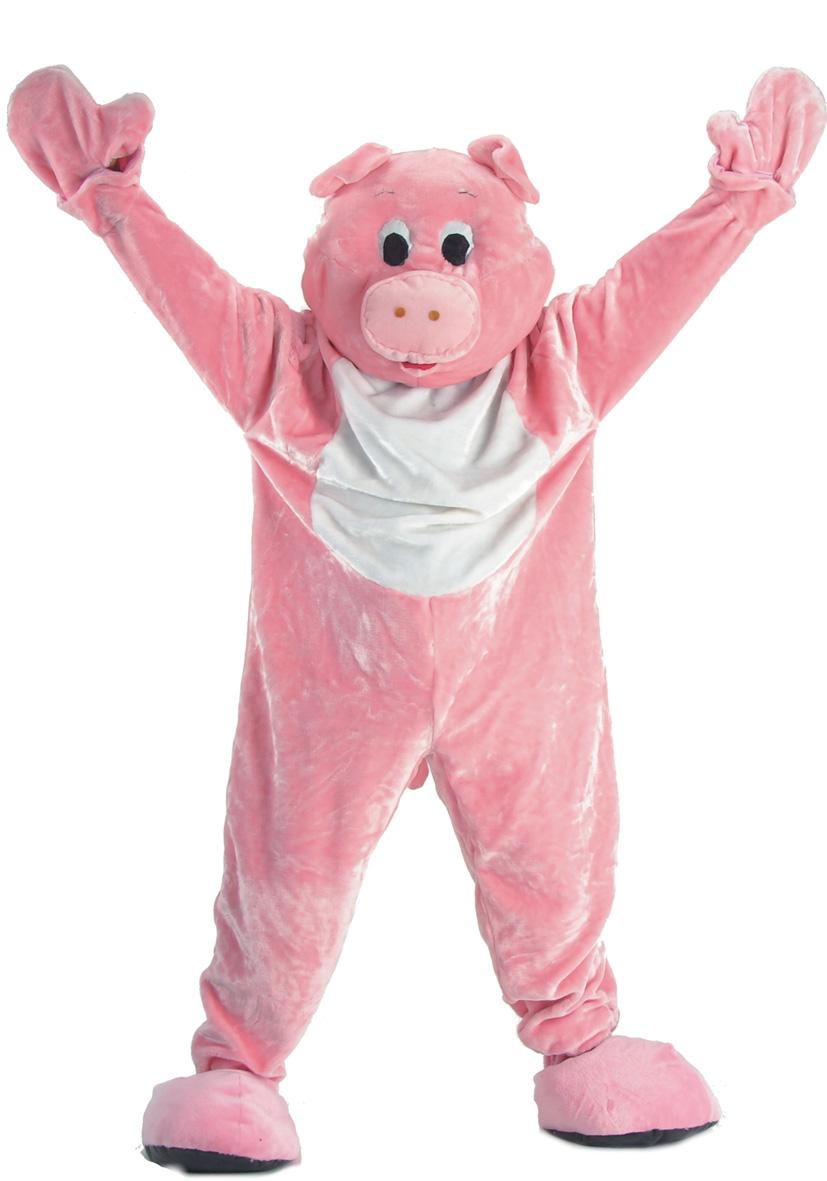 Costume mascotte maiale