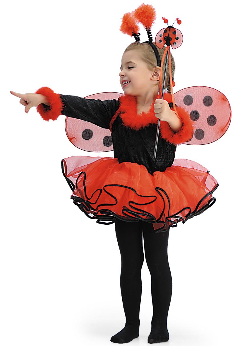 Costume coccinella ballerina