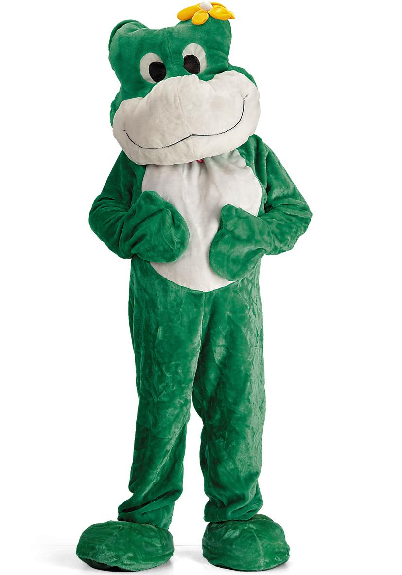 costume mascotte rana