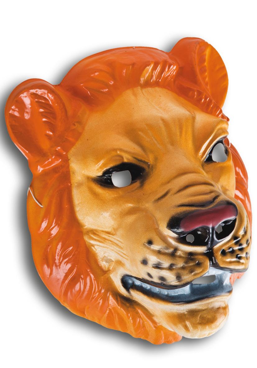 maschera leone in plastica