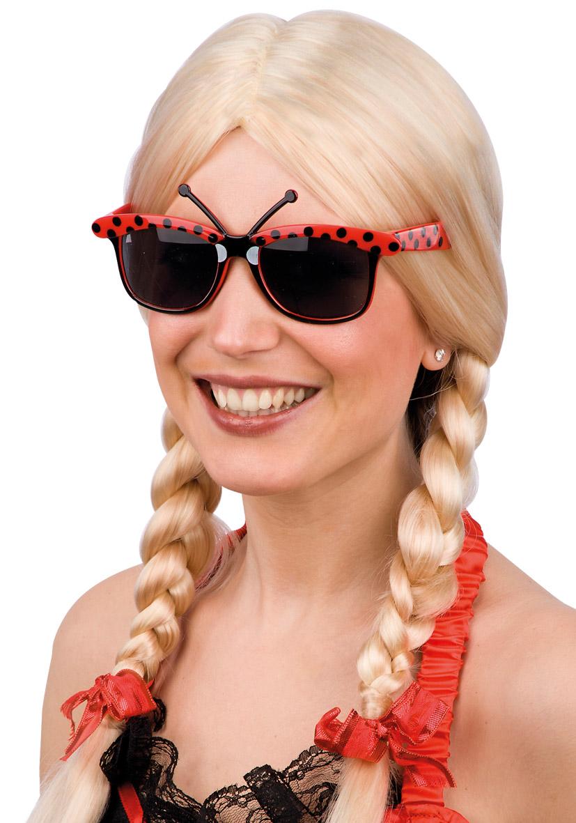 Occhiali coccinella