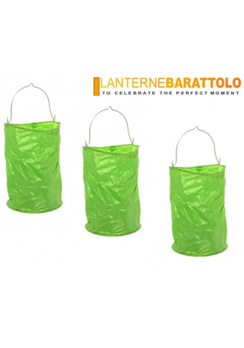 Lanterne barattolo verdi
