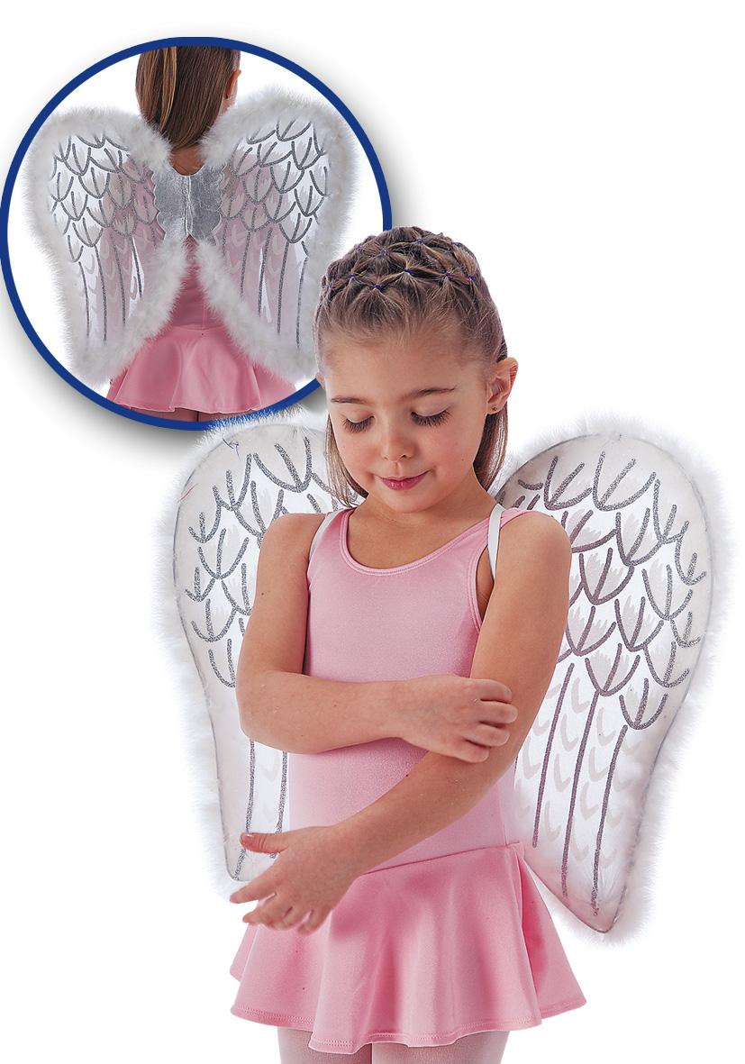 Ali da angelo con glitter e marabout