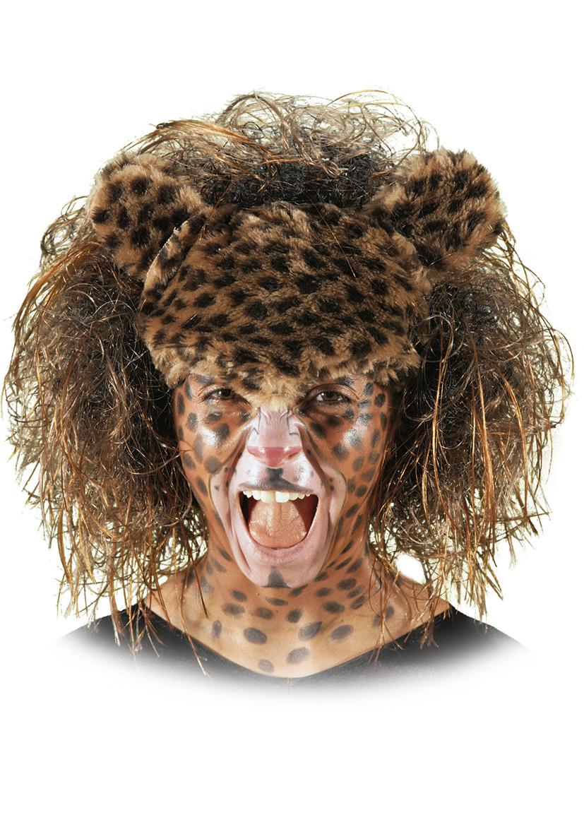 Parrucca leopardo