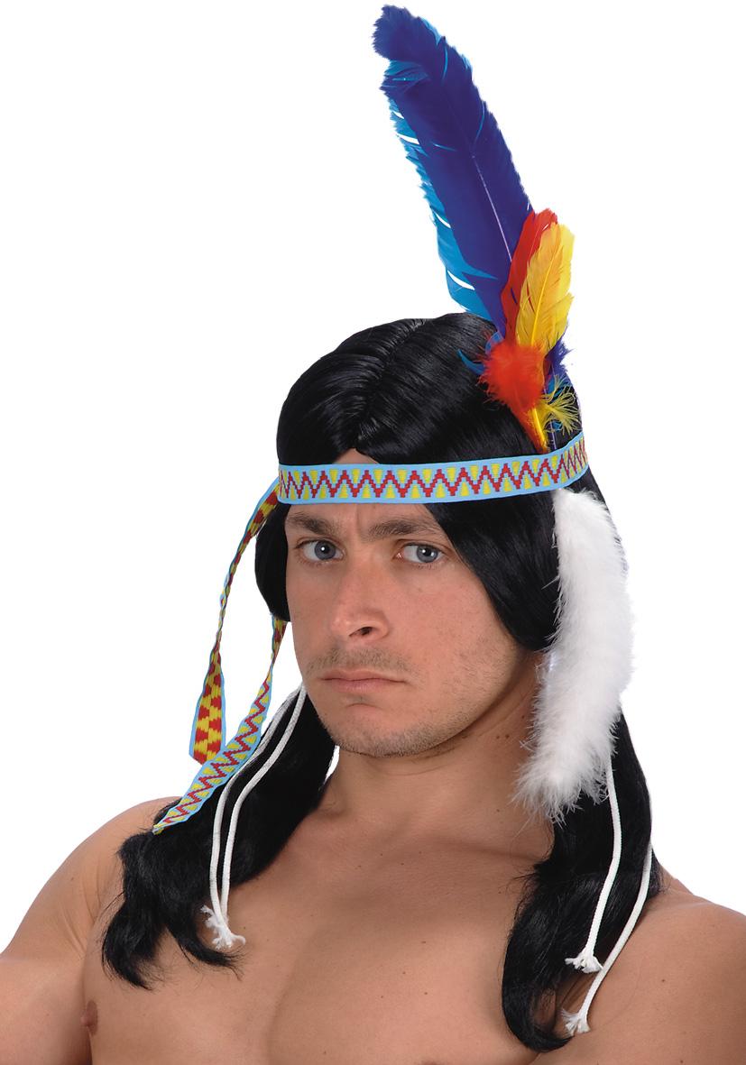 Parrucca indiana coda di volpe