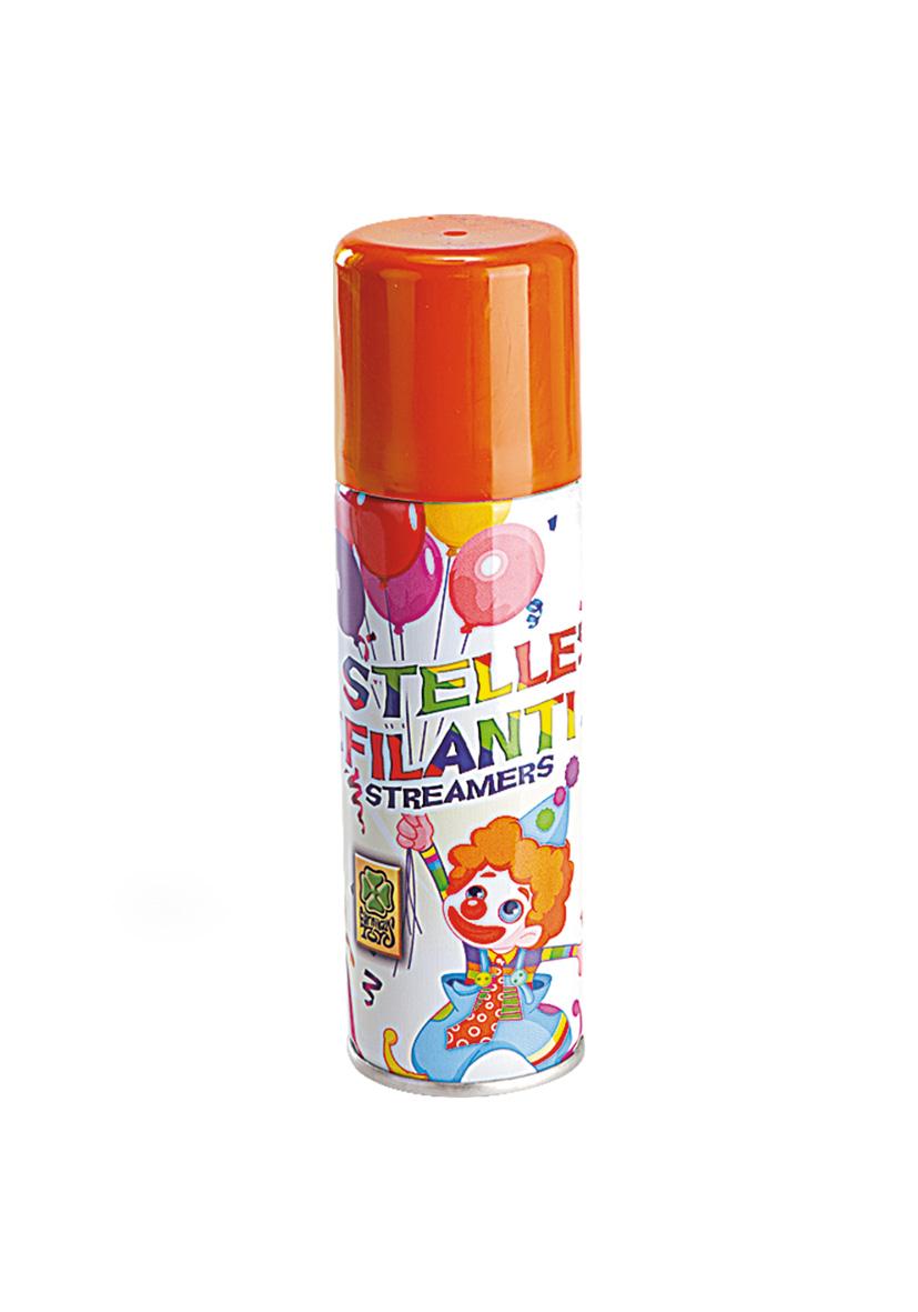 Stelle filanti spray arancione