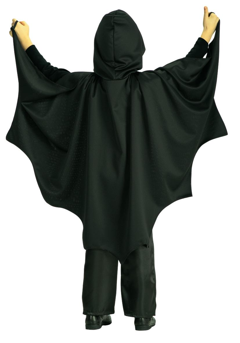 Mantello pipistrello con cappuccio