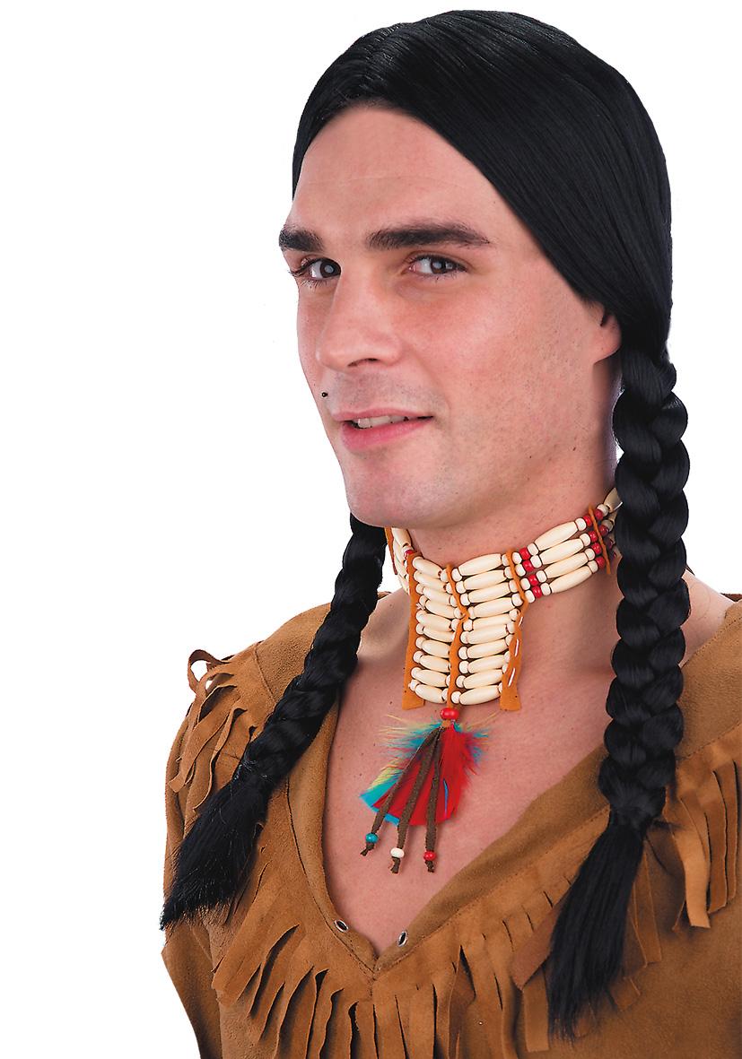 Collarino indiano con piume