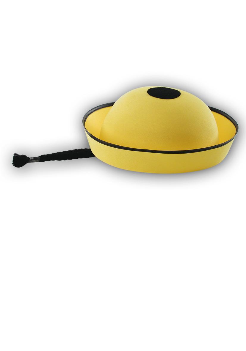 Cappello mandarino con treccia bimbo