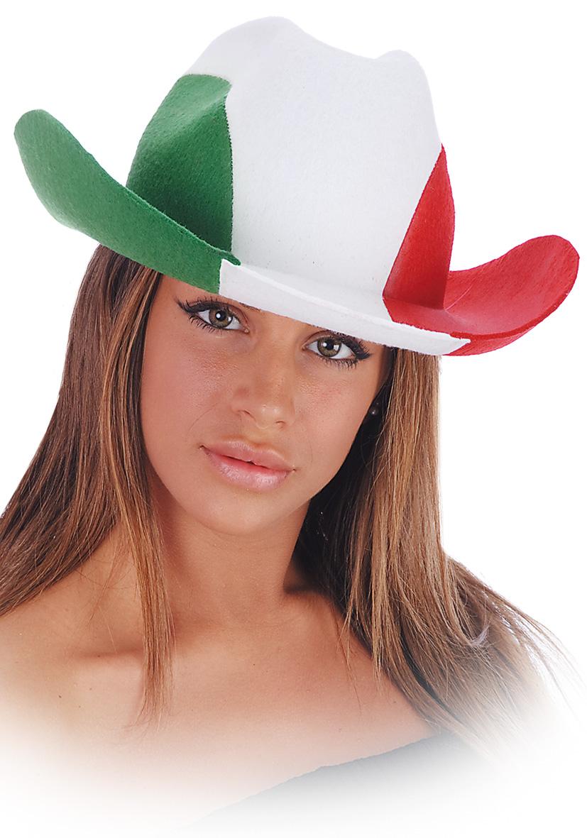 Cappello cowboy Italia in feltro