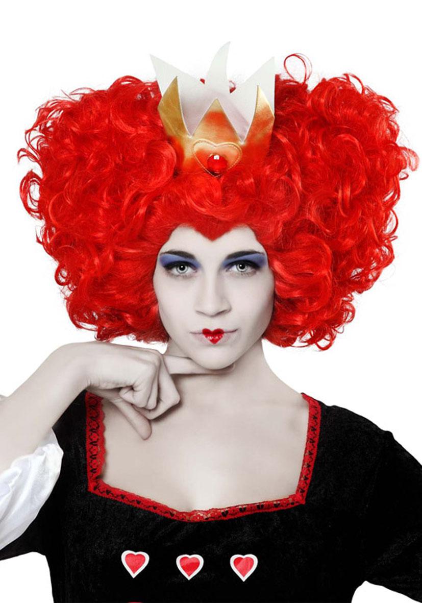 Parrucca regina di cuori