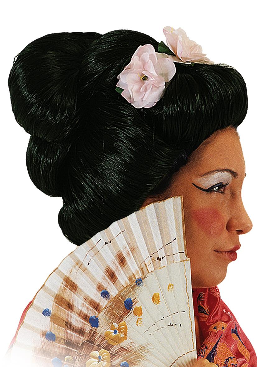 Parrucca geisha