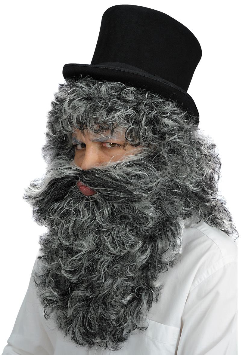 Parrucca Mangiafuoco con barba