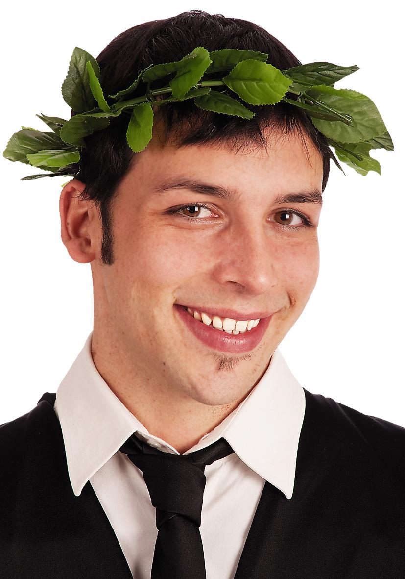 Corona di alloro verde