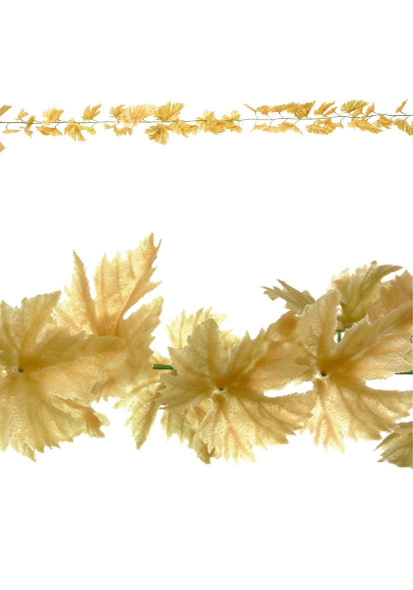 Collana con foglie di vite autunnali