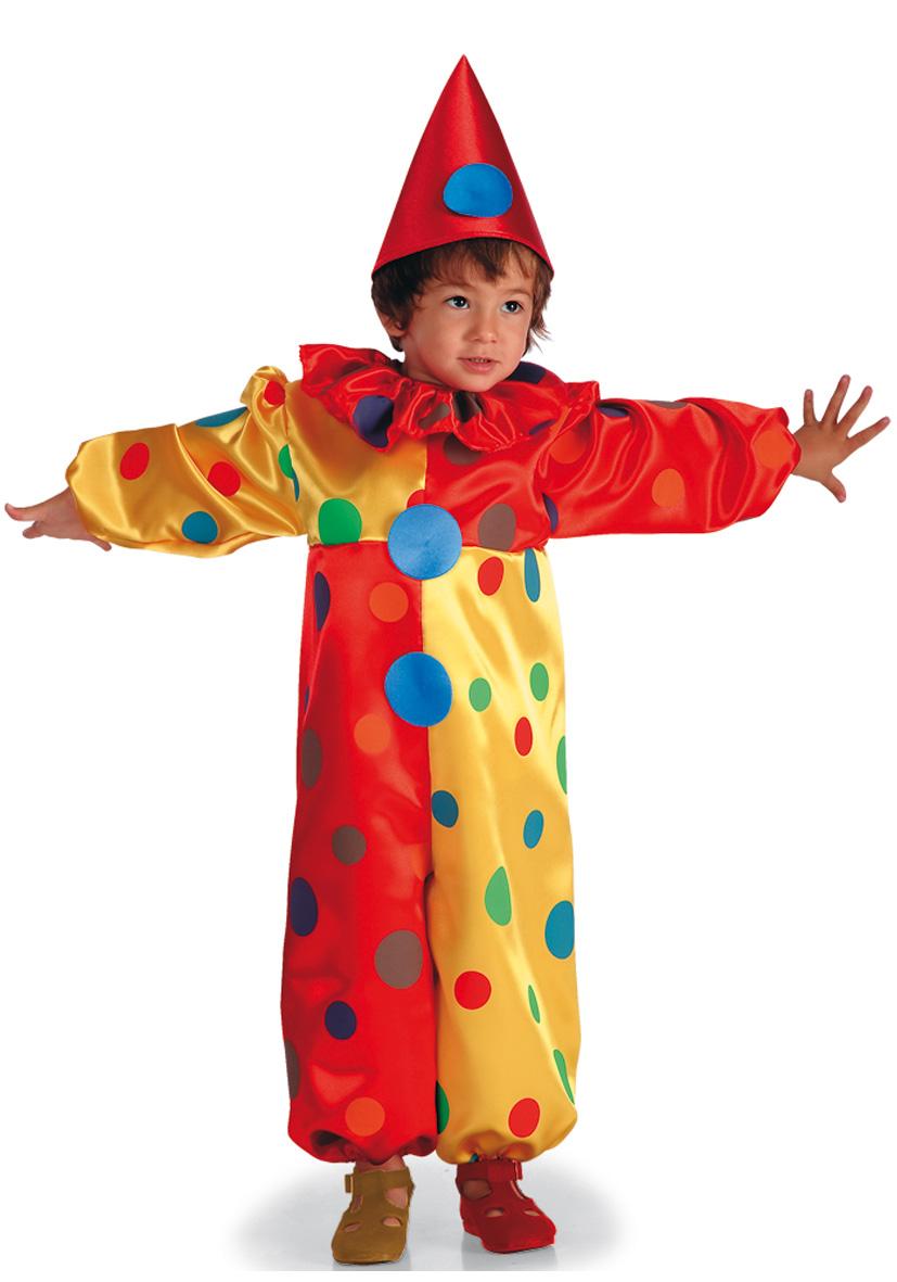 costume clown bollicino