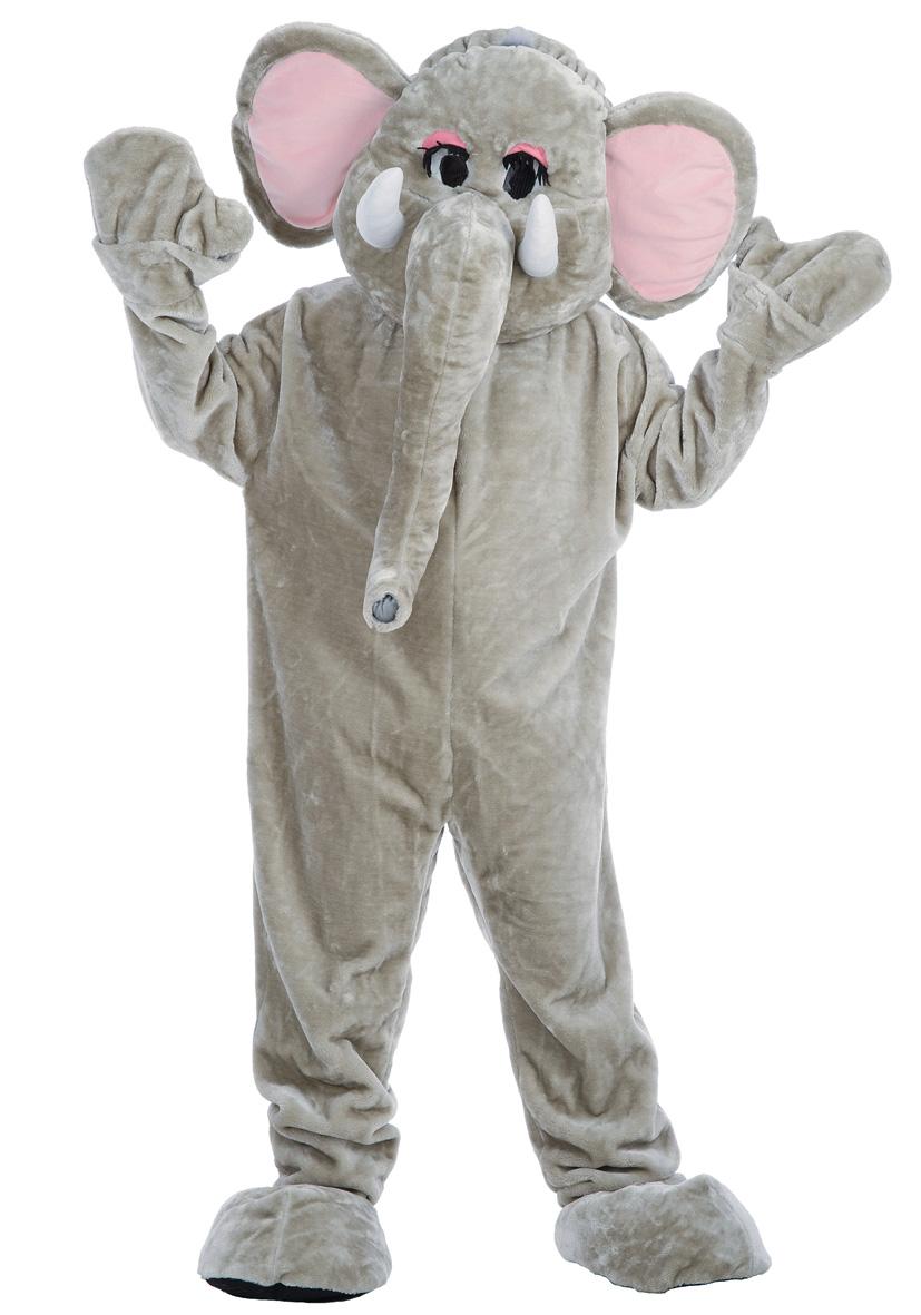 Costume mascotte elefante