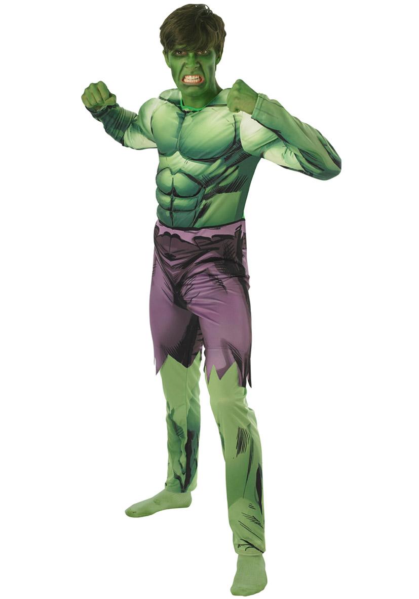 Costume Hulk adulto