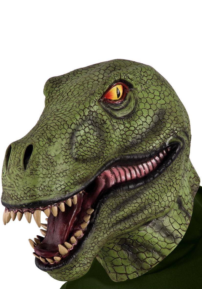 Maschera dinosauro in lattice