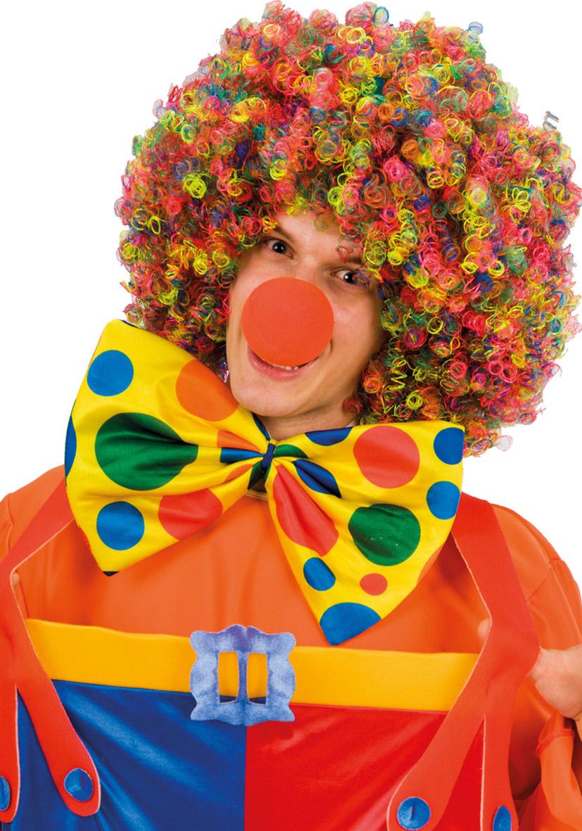Papillon clown in tessuto