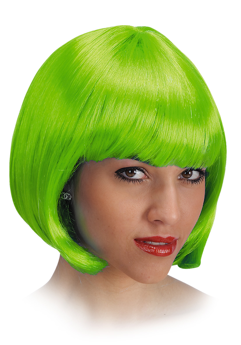 Parrucca pin up verde