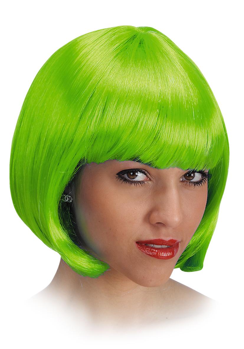 Parrucca pin up verde