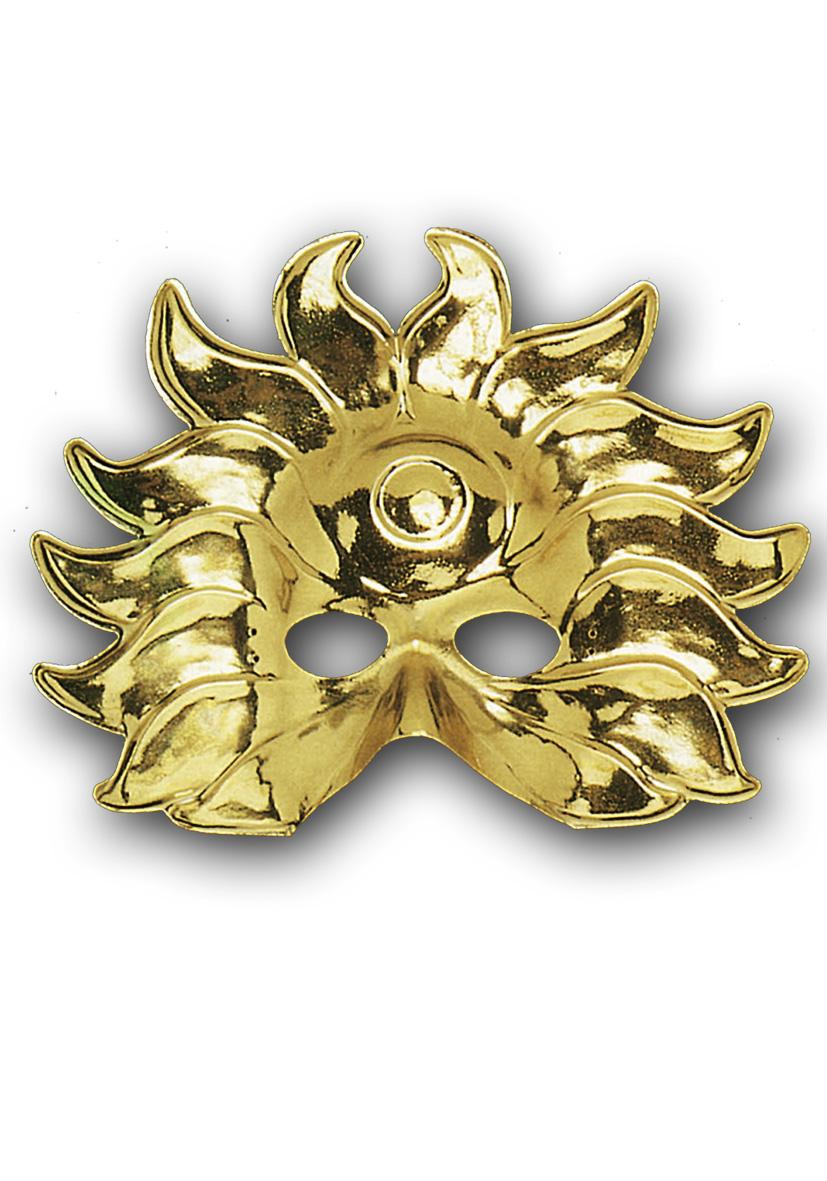 Maschera sole oro