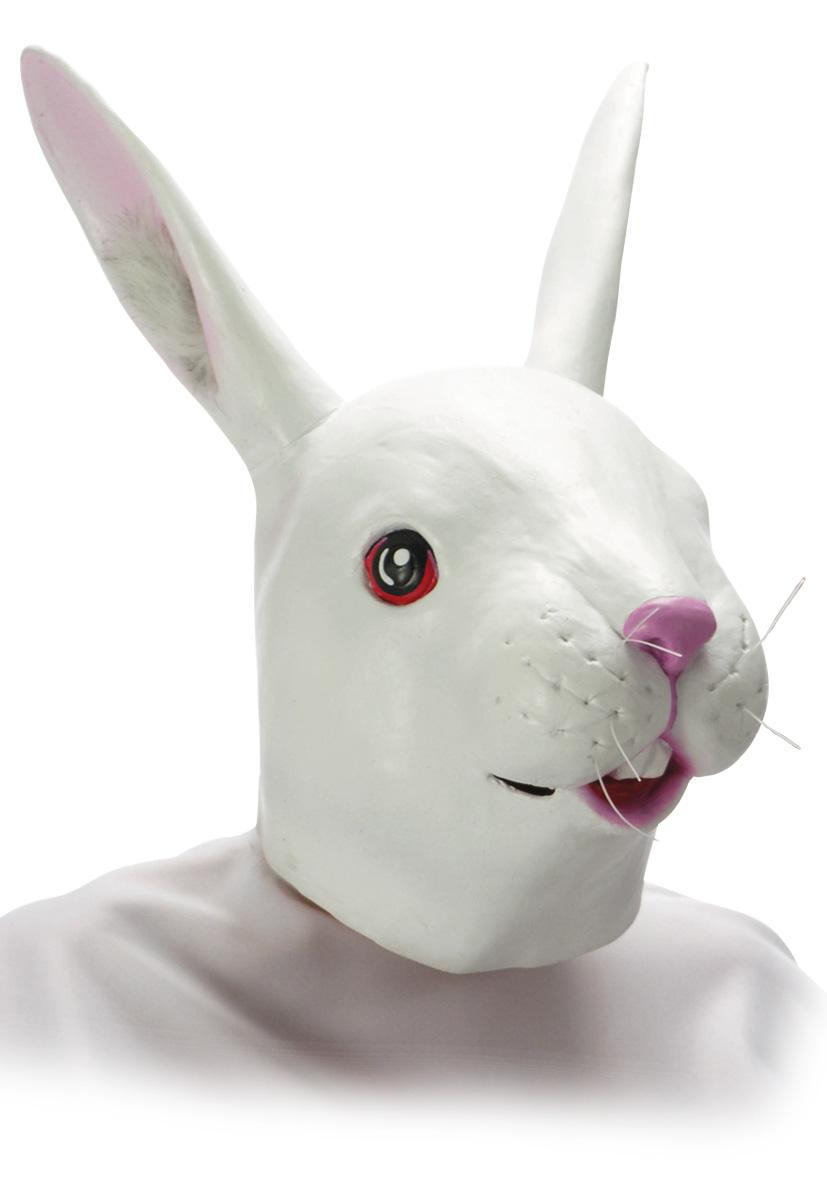 Maschera coniglio in fingomma