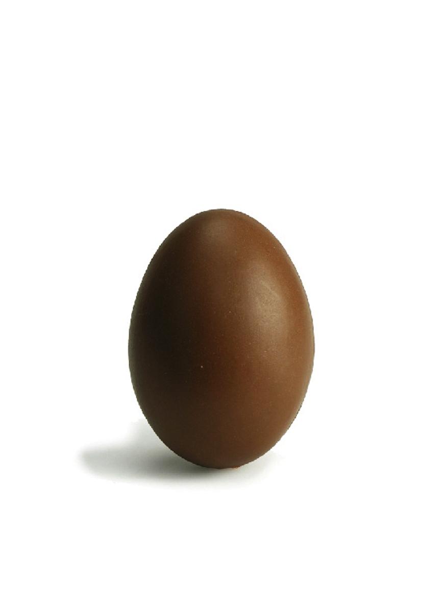 Uovo di cioccolata in plastica cm 6,5 x 4,5