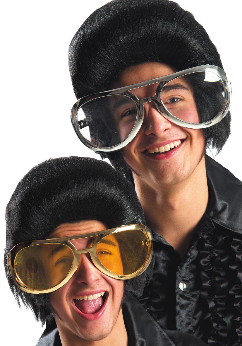 occhiali giganti metallizzati